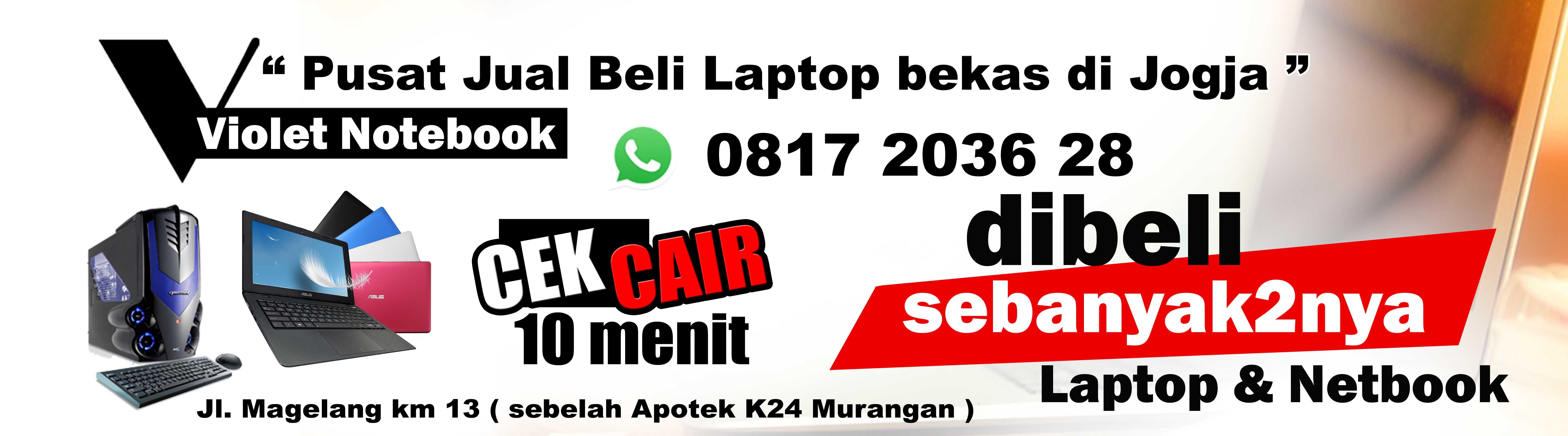 Pusat Jual Beli Laptop Bekas Jogja Magelang Solo